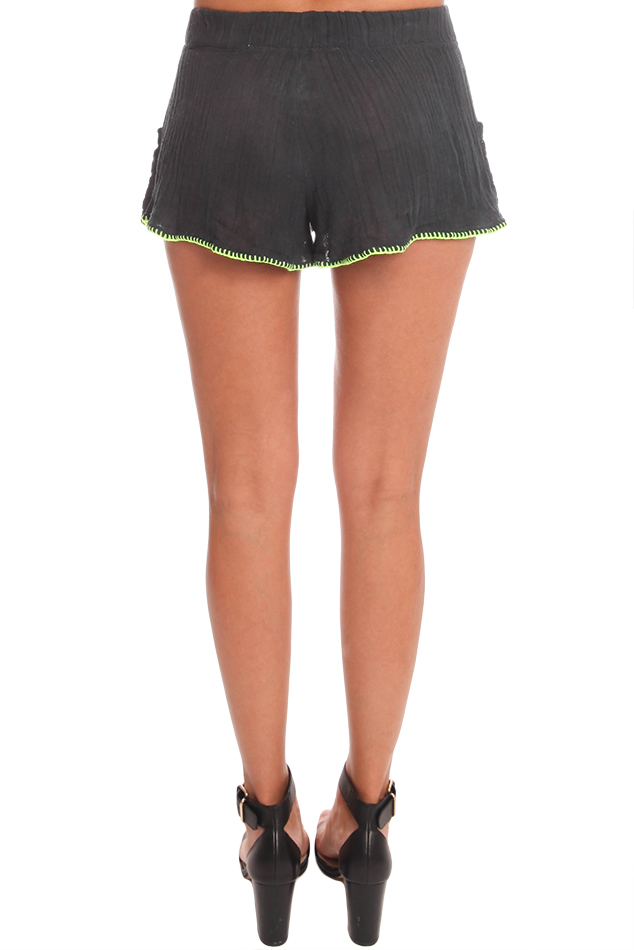 Lyst - Jens Pirate Booty Dita Shorts In Black-8355