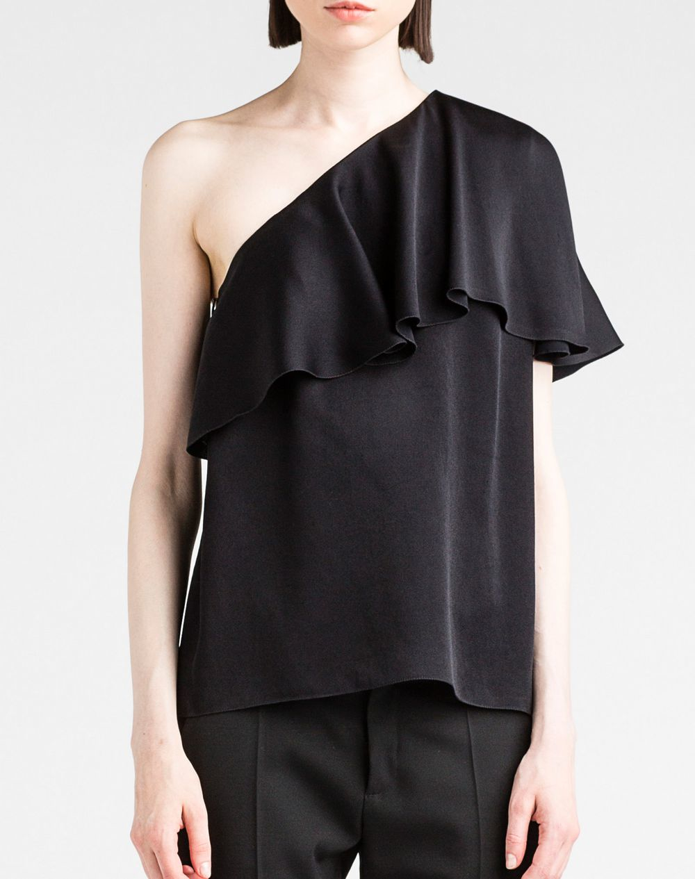 Lyst - Lanvin Top in Black