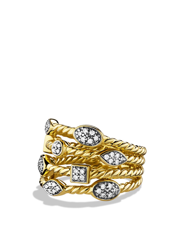 David Yurman Confetti Ring Turquoise