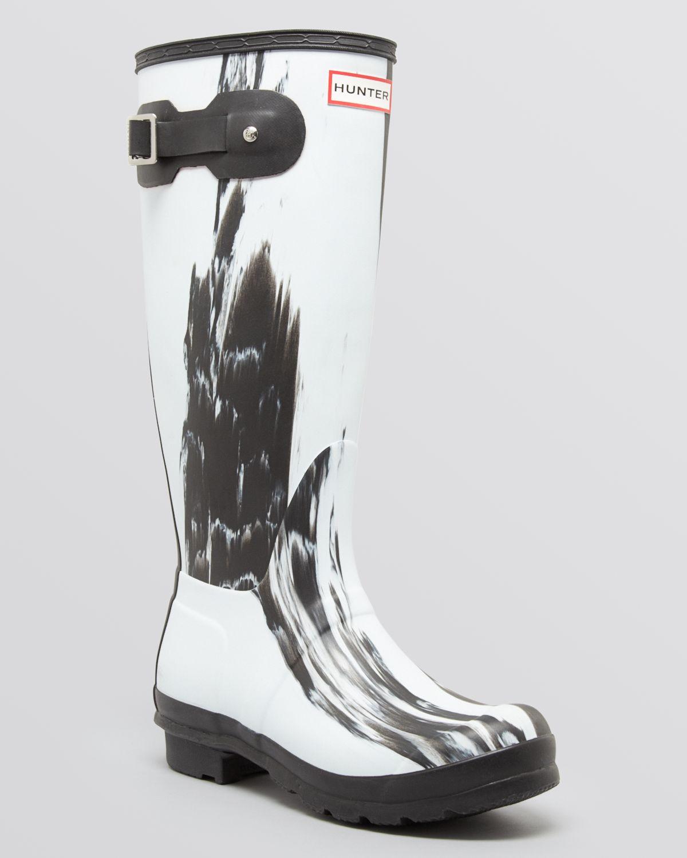 3d954b1b4 HUNTER Original Rain Boots Nightfall in Black - Lyst