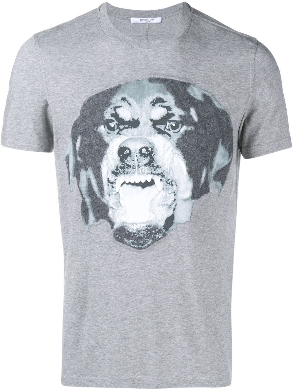 givenchy 39 rottweiler 39 graphic t shirt in gray lyst. Black Bedroom Furniture Sets. Home Design Ideas