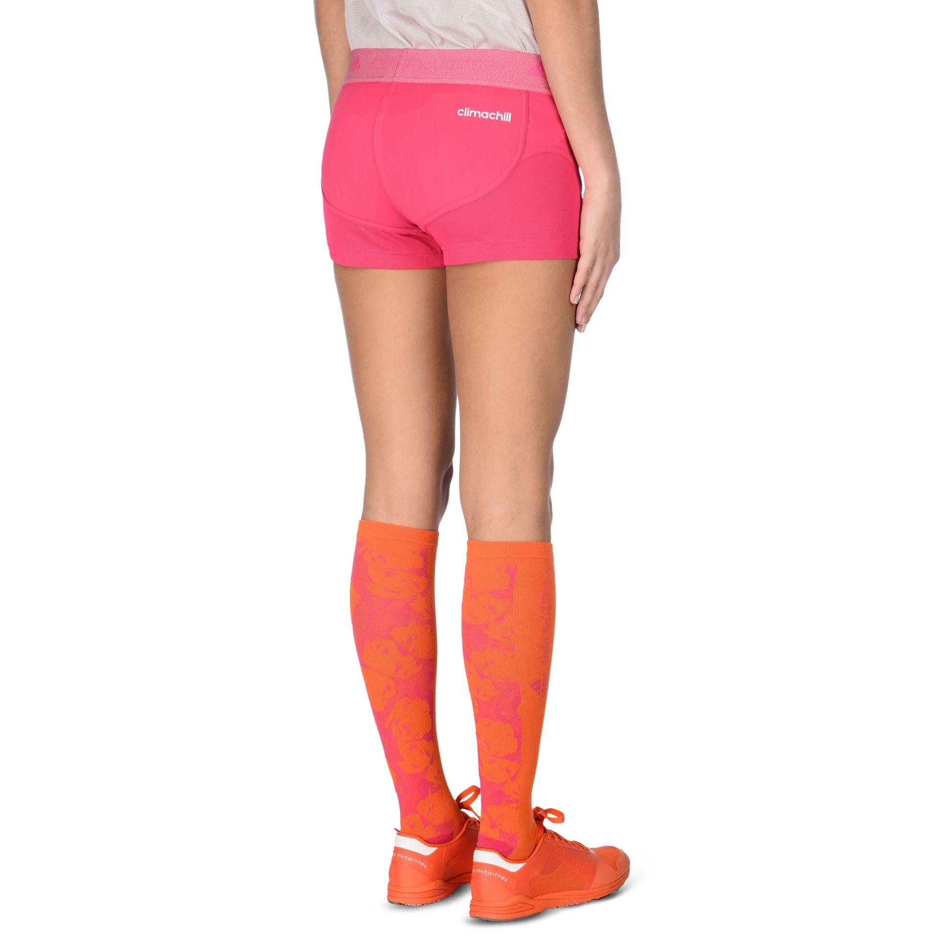 Adidas By By Stella Mccartney Pantalones 13000 cortos Pink Run Clima Chill Run en Pink Lyst dc3530a - rspr.host