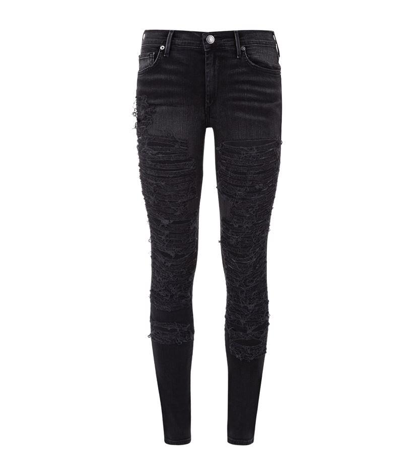 Creative Miamasvin Tattered Tapered Jeans  KSTYLICK  Latest Korean Fashion