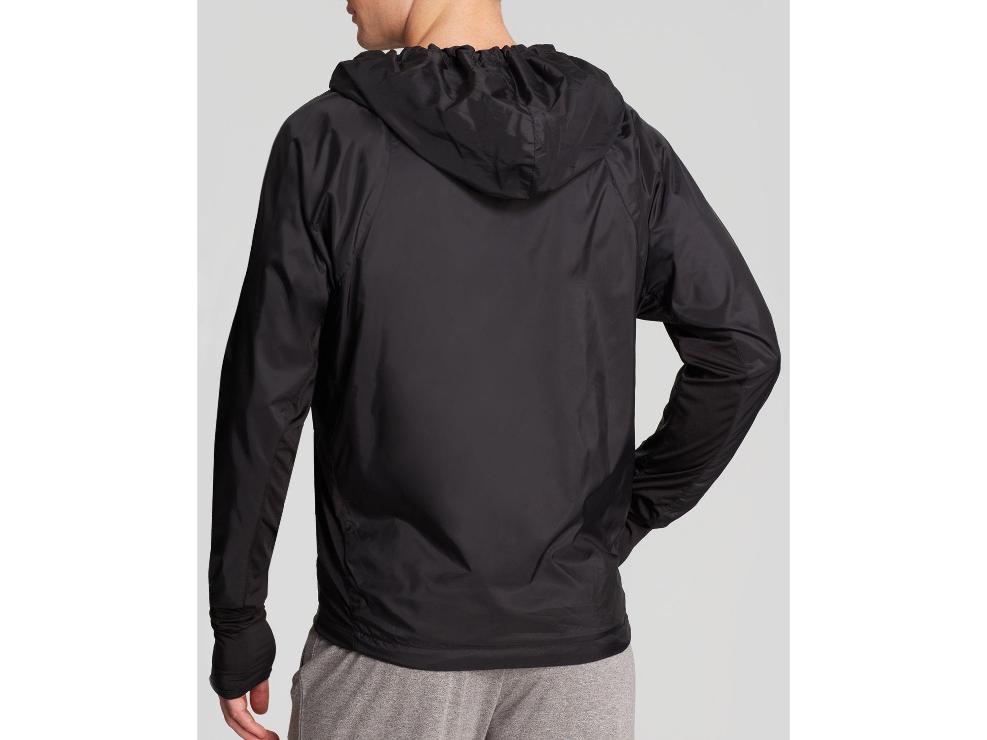 3bf68f7c0 Feats Of Strength Black Hooded Waterproof Windbreaker Jacket -  Bloomingdale's Exclusive for men