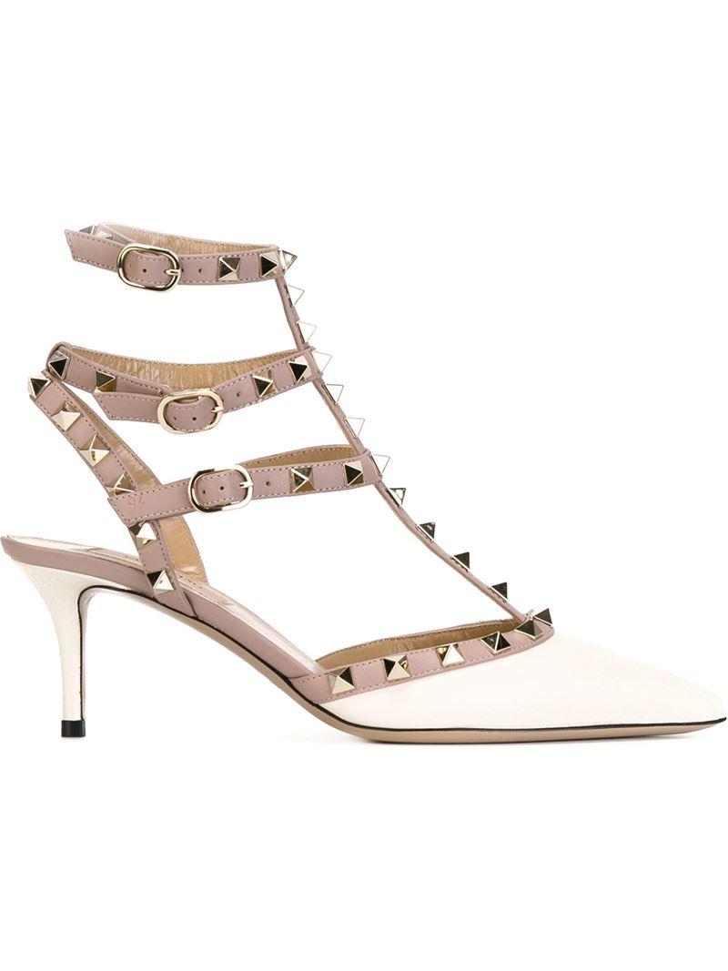 1593a9c25488 VALENTINO Nylon Rockstud Snow Boots S 35-37 White 105015. Valentino Rockstud  Ponyhair Sandals - Shoes - VAL73217