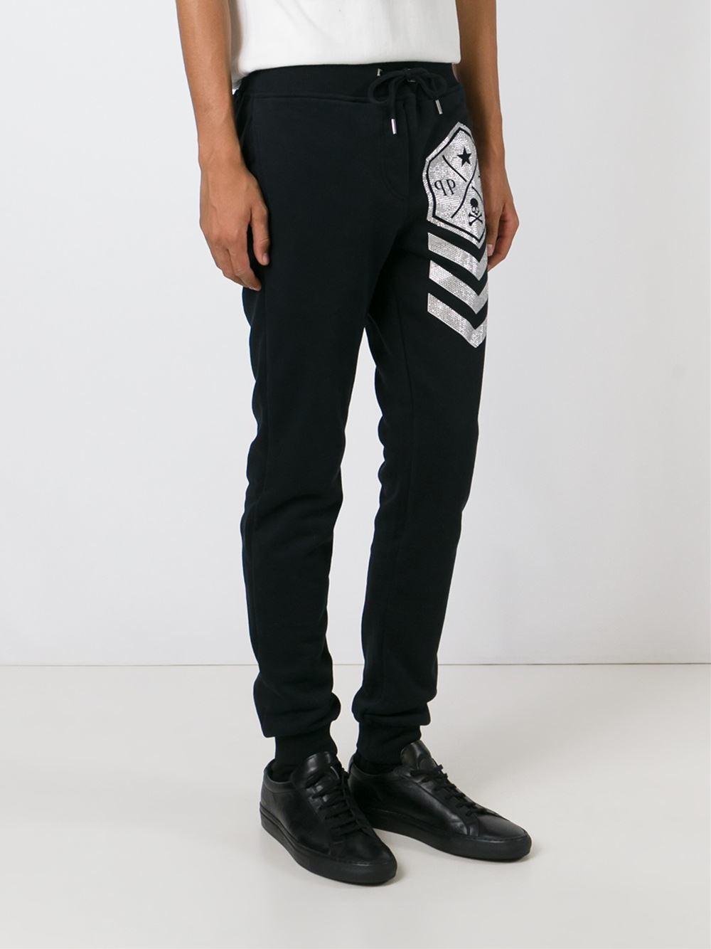 Lyst philipp plein london track pant in black for men jpg 1000x1334 London  pants c9ff84b10