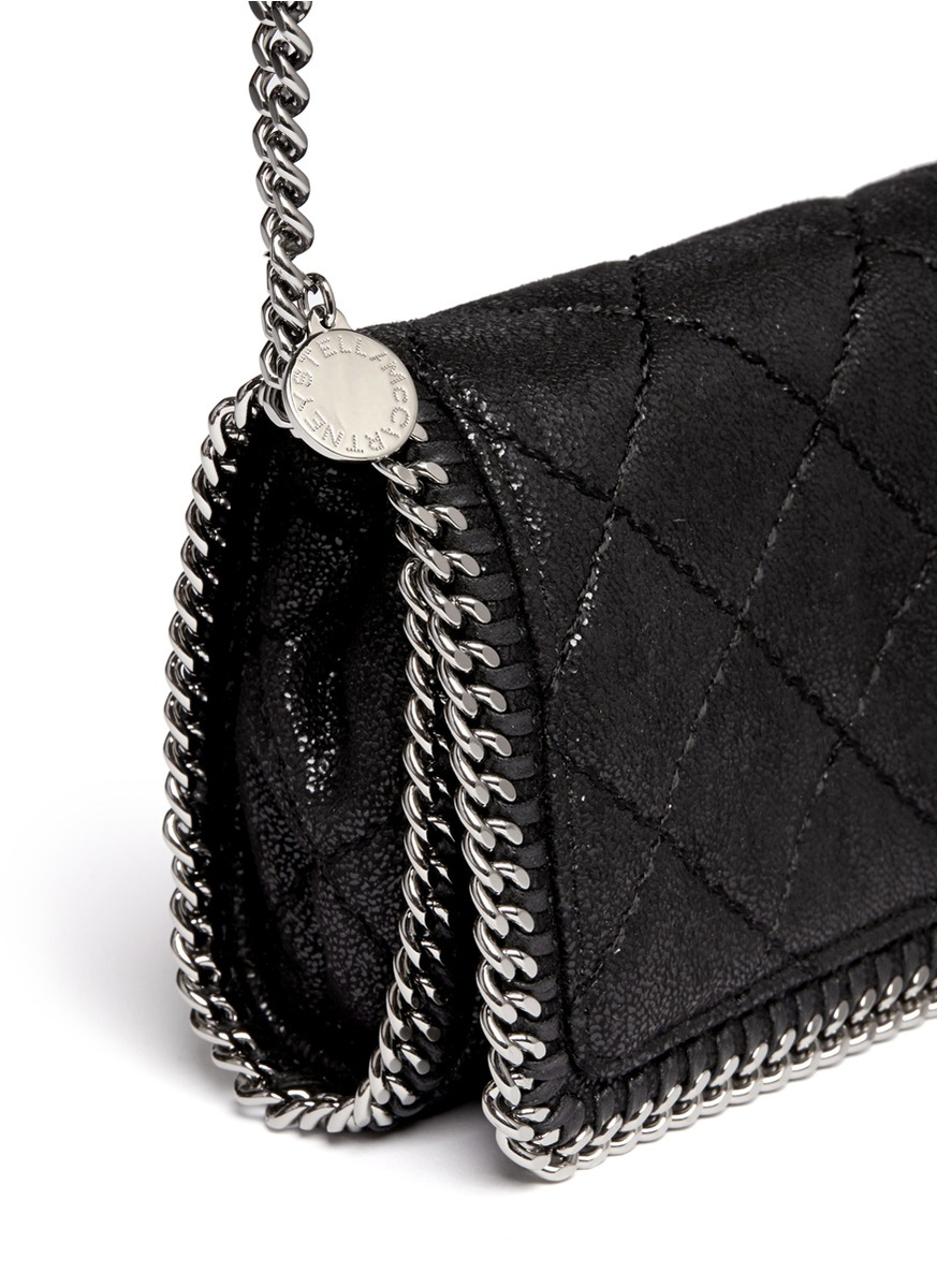 Lyst Stella Mccartney Falabella Quilted Crossbody
