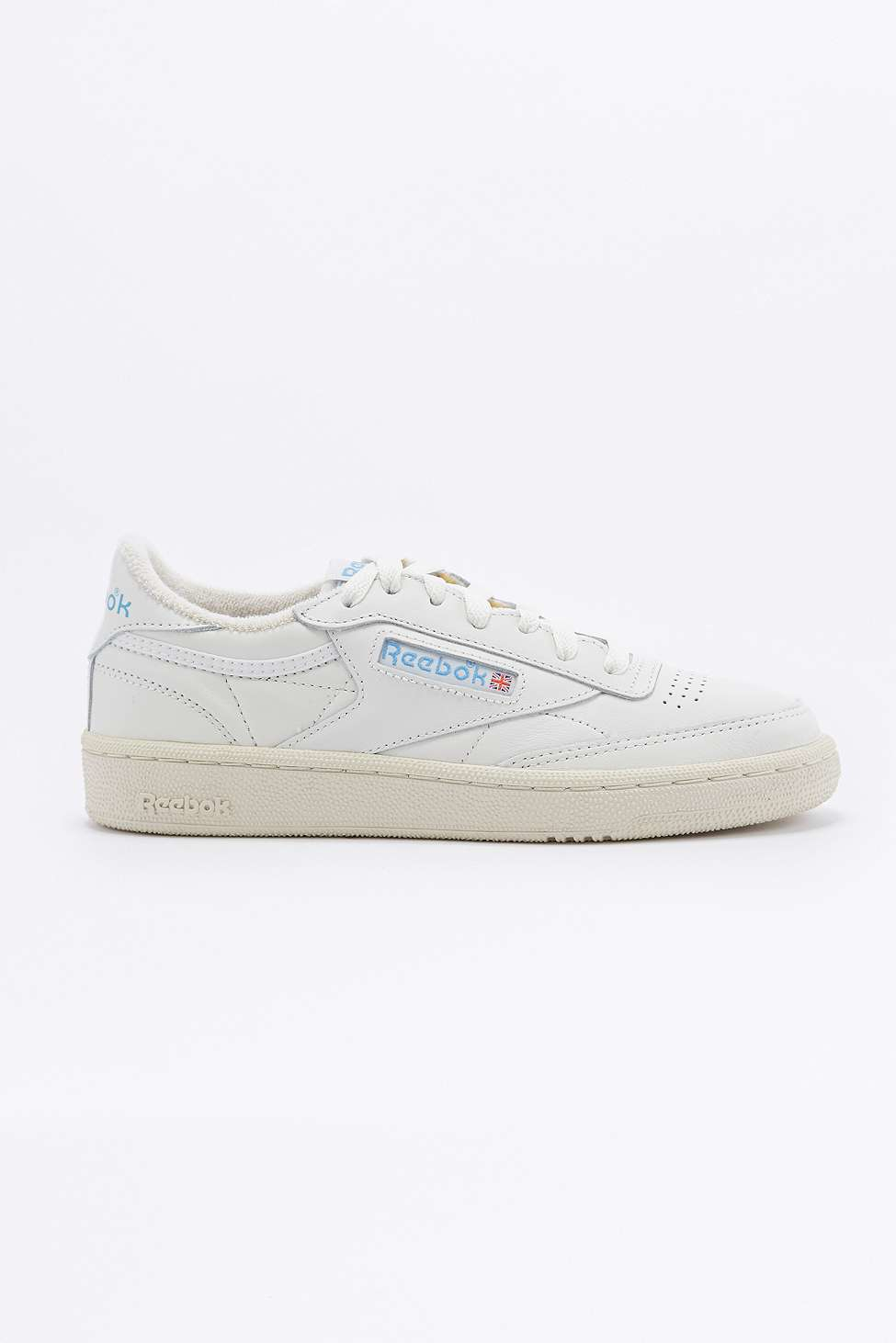 hot sale online 0c277 75bb7 Reebok Club C 85 Vintage White Trainers in White for Men - Lyst