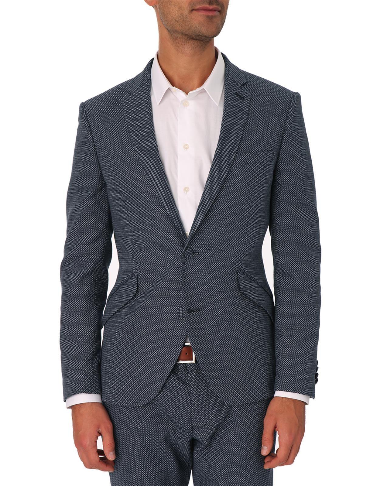 Selected Zero Pattern Black Suit Jacket in Black for Men ...