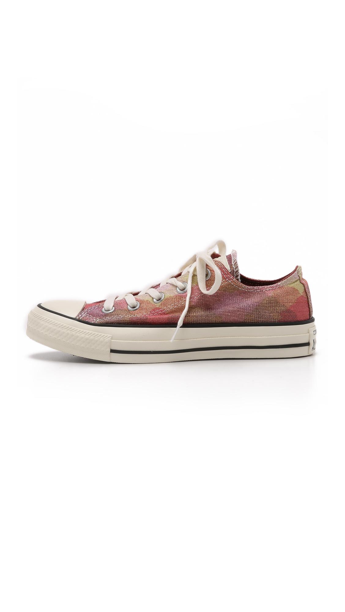 fb39ff94854 Converse Chuck Taylor All Star Missoni Ox Sneakers - Pink/auburn ...