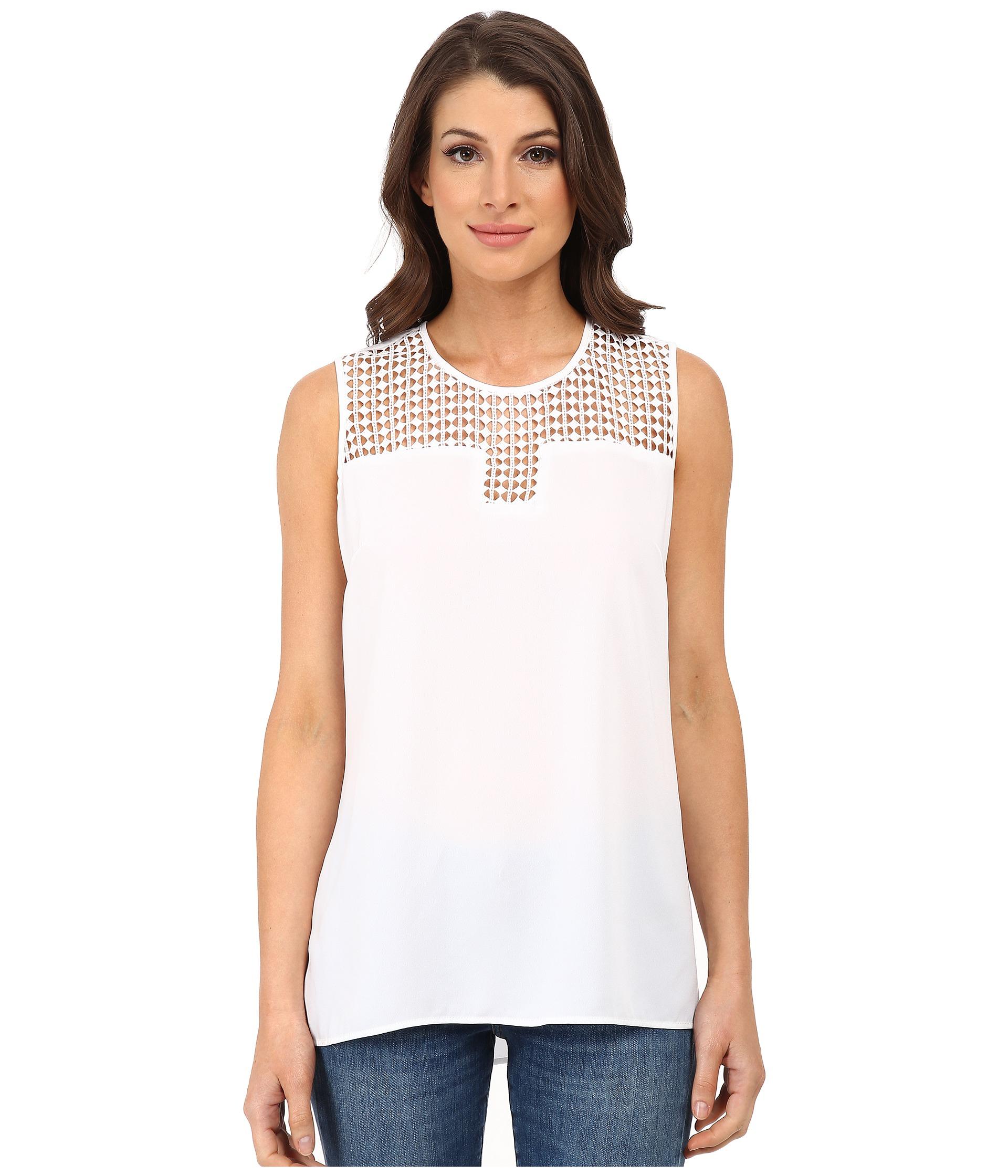 Women'S Sleeveless Cotton Blouses 49