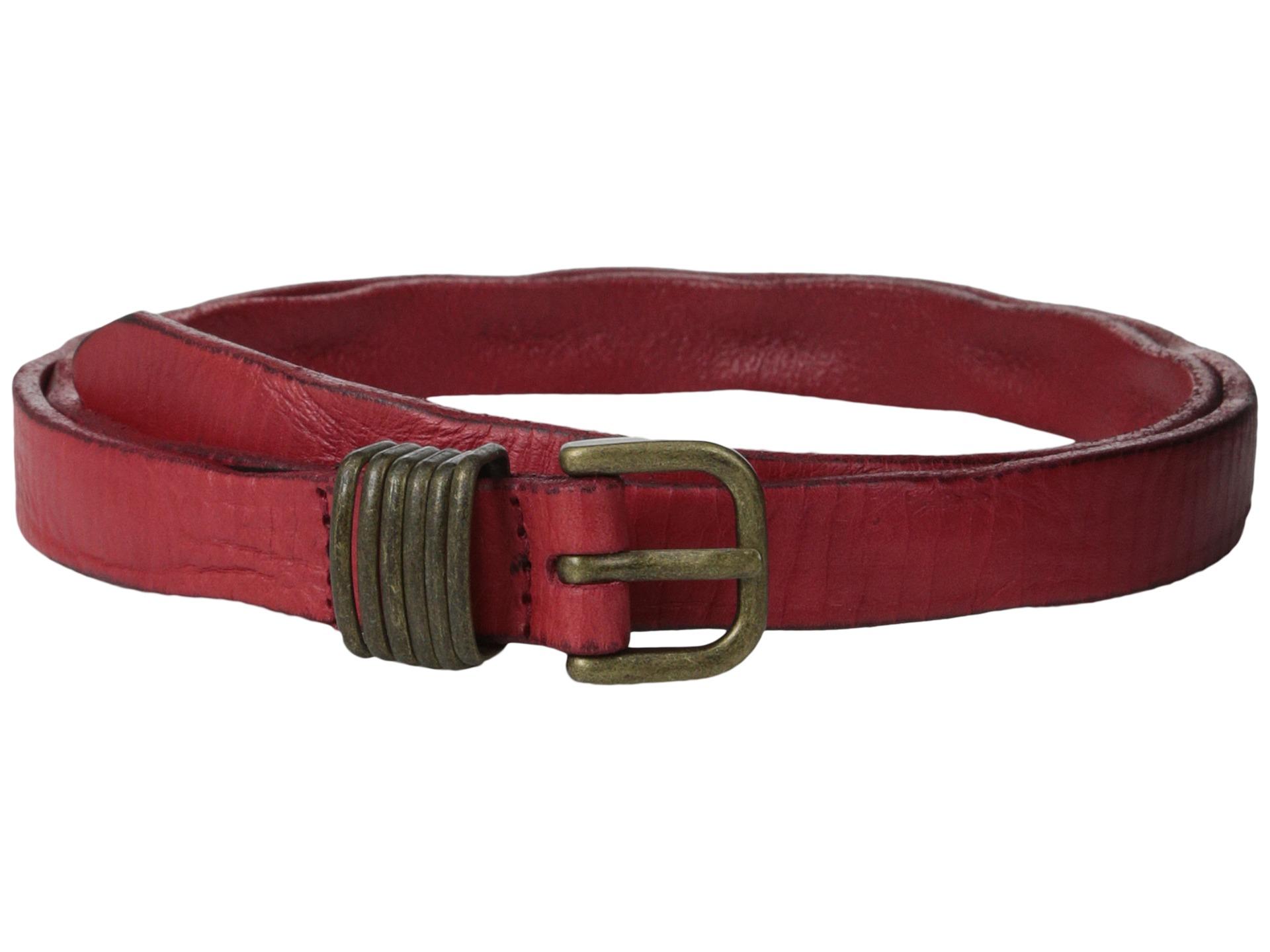 liebeskind lkb634 vintage leather belt in lyst