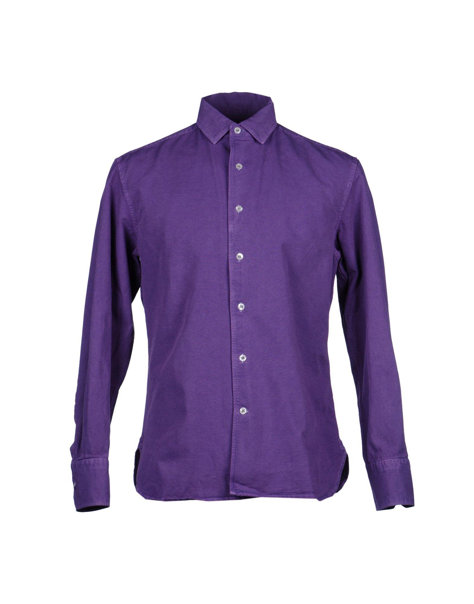 Lyst Alain Shirt In Purple For Men