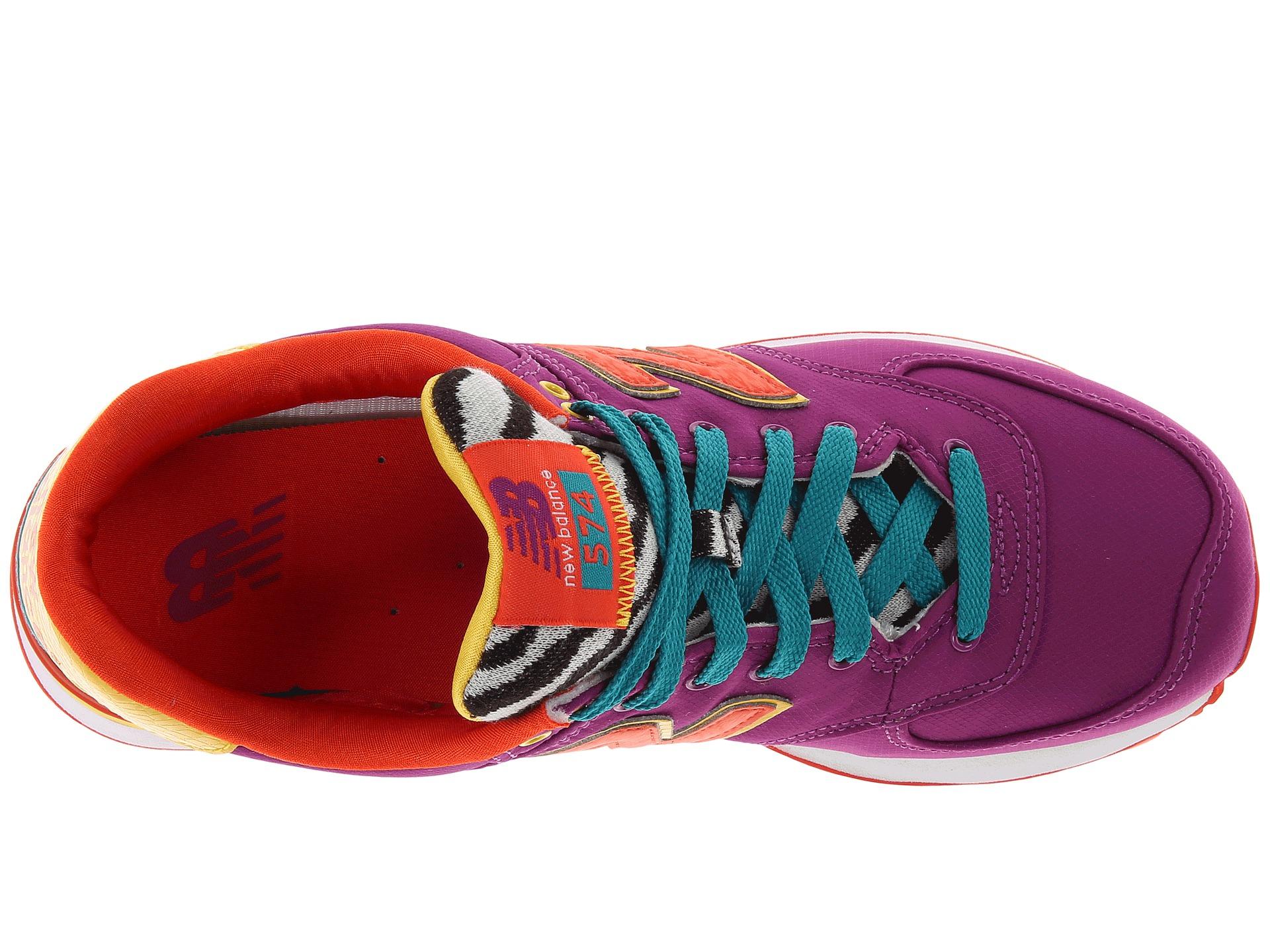 Lyst - New Balance Wl574 Pop Safari in Purple
