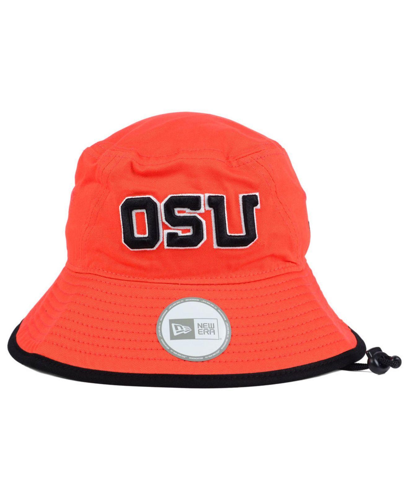 half off 3f108 39567 ... cheap lyst ktz oregon state beavers tip bucket hat in orange for men  0ed6a c40ef