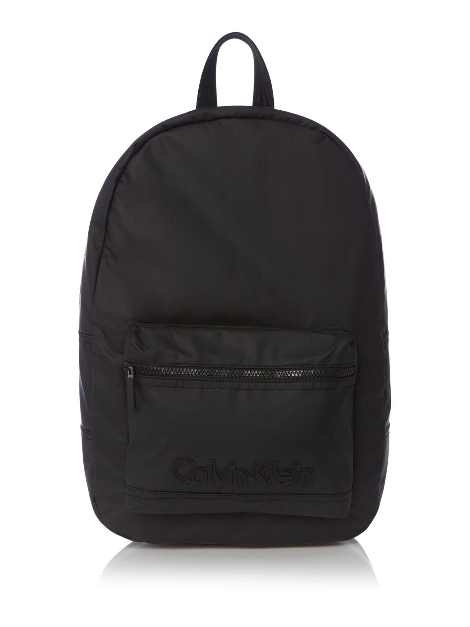 calvin klein metro backpack in black for men lyst. Black Bedroom Furniture Sets. Home Design Ideas