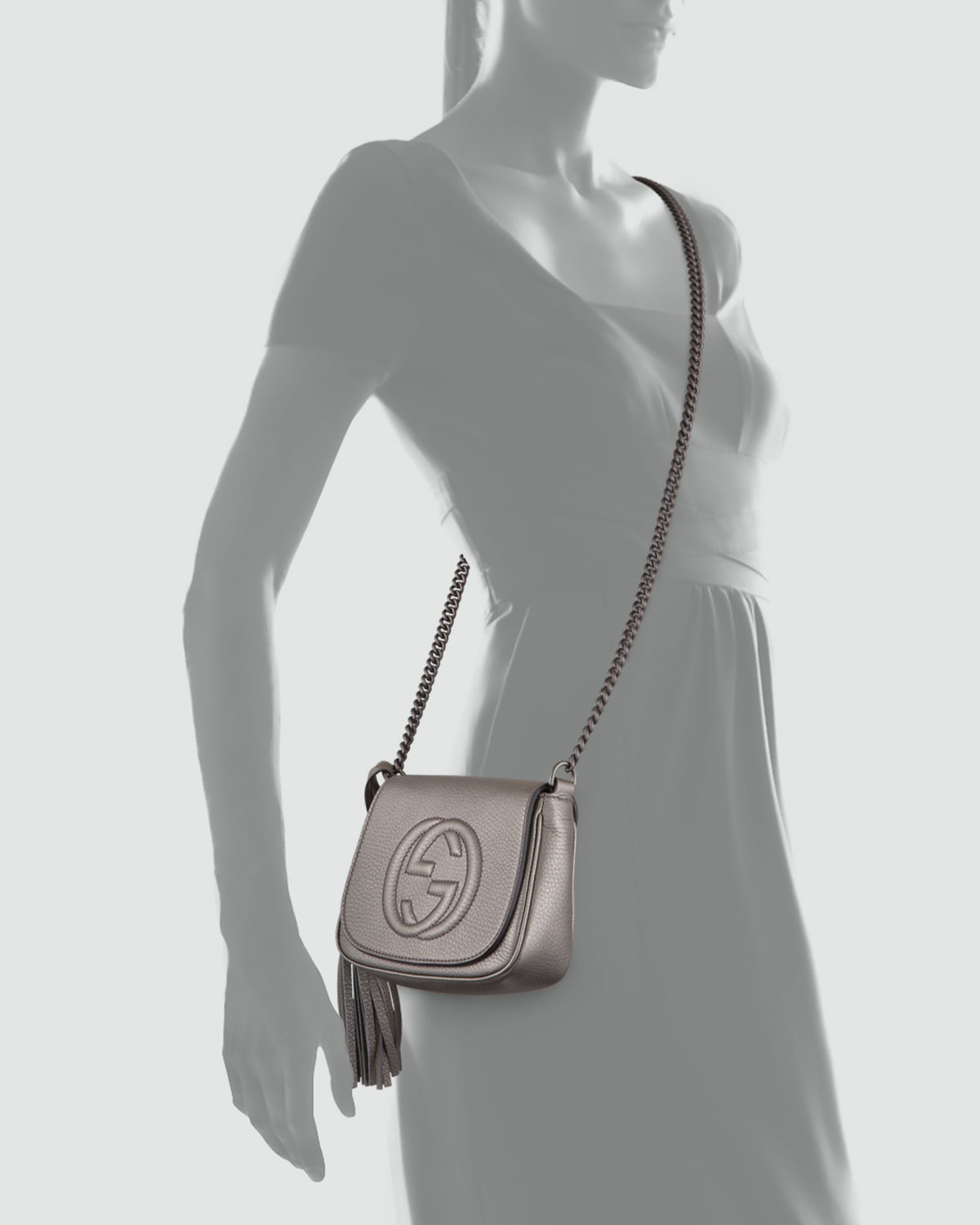 be660a7957a Gallery. Previously sold at  Bergdorf Goodman · Women s Gucci Soho Bag