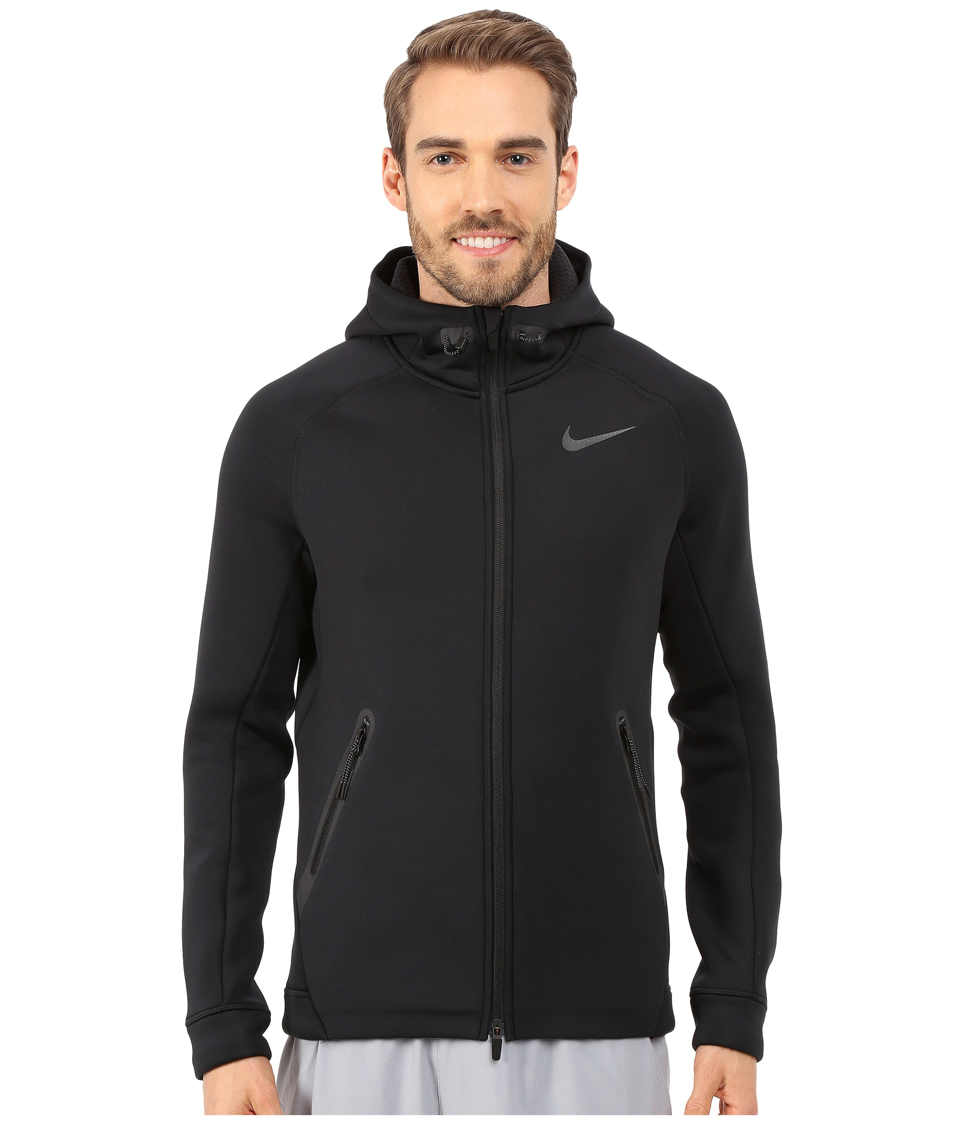 Nike Therma Sphere Max Training Jacket In Black For Men Lyst