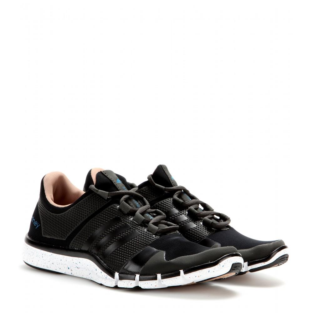 brand new fa52b 68dc6 Adidas By Stella McCartney Black Climacool Adipure Sneakers