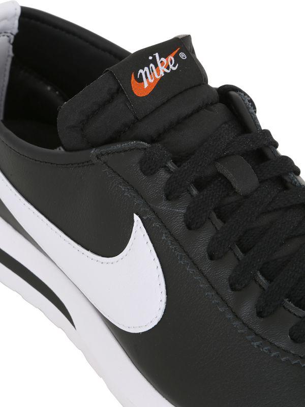 Nike Roshe One Cortez Nm Sp Sneakers in Black/White (Black)