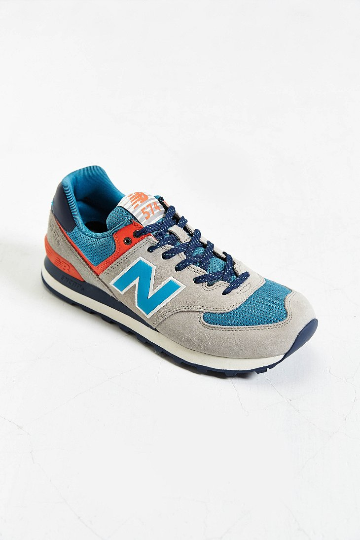 purchase cheap 0c696 2d415 New Balance Brown 574 Out East Collection Running Sneaker for men