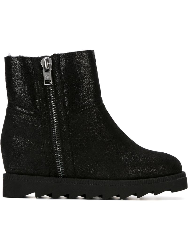 Lyst - Ash  yang  Boots in Black cfb06bf151