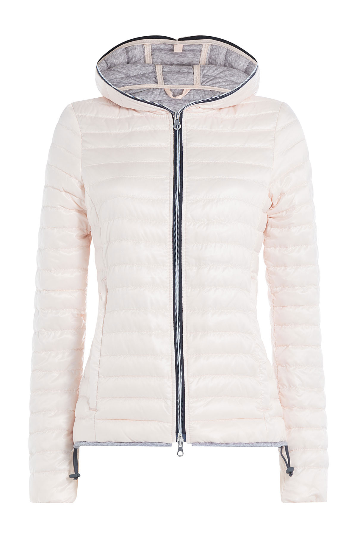 Jacket Down Lyst Duvetica Pink Rose With Hood In q6EPx1wE