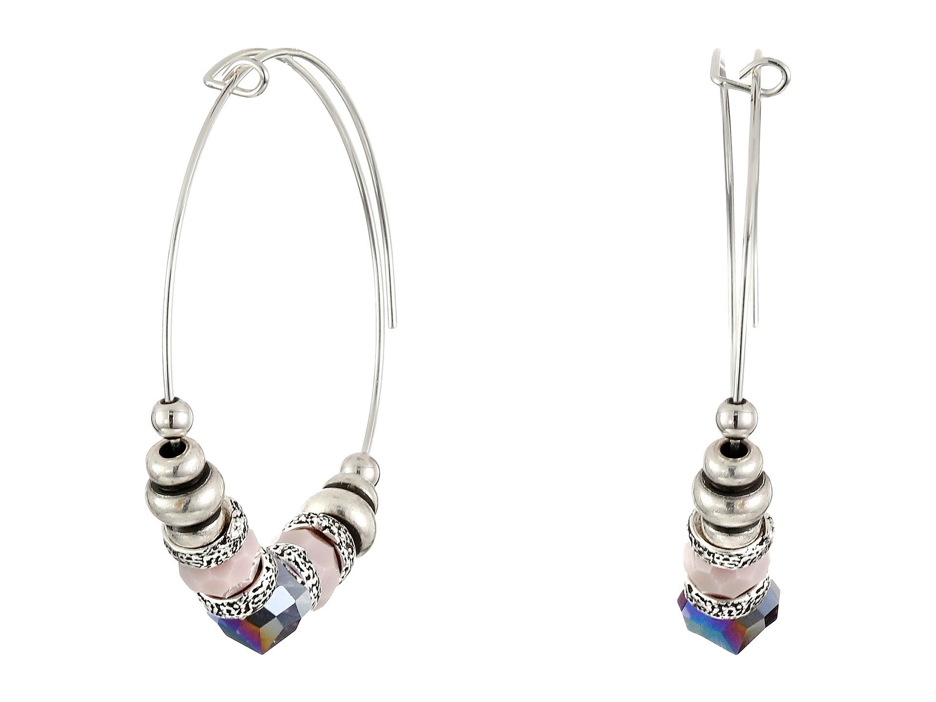 alex and ani nature u0026 39 s gem thistle earrings in metallic
