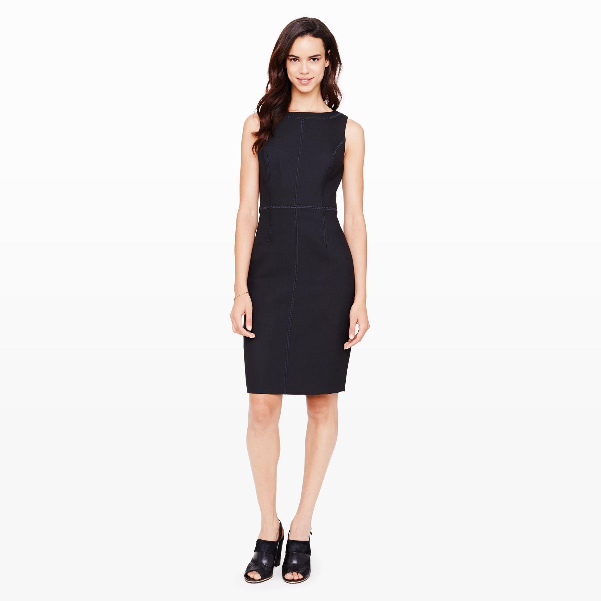104d6bfe89234 Club Monaco Vienna Sheath Dress in Black - Lyst