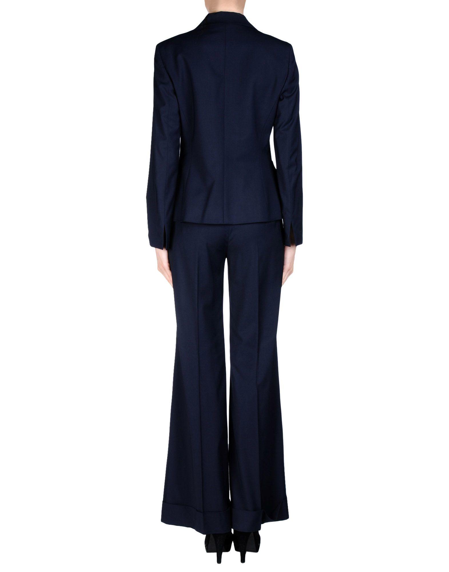 M Missoni Women S Suit In Blue Lyst