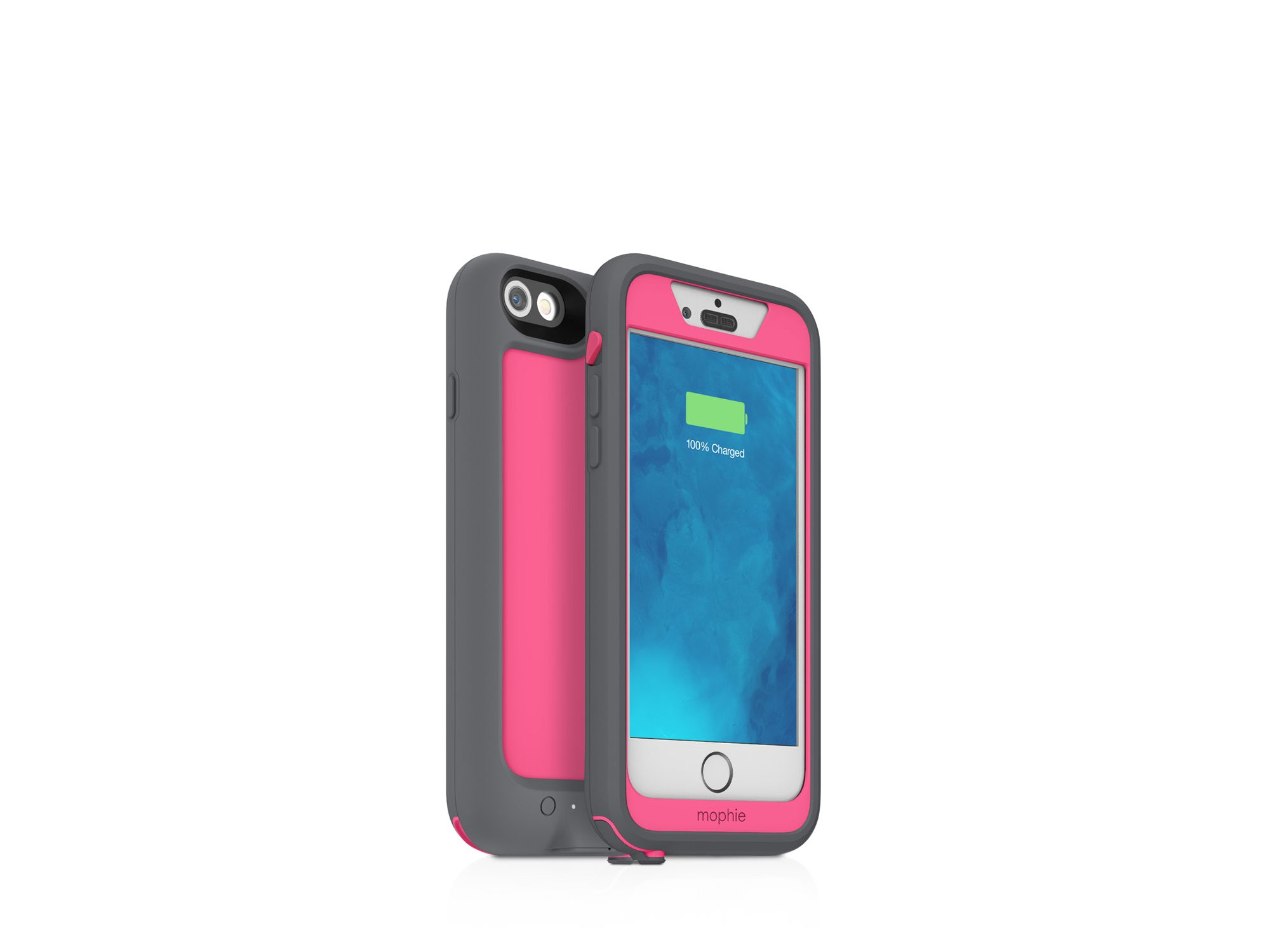 new styles 04640 c85b4 Mophie Pink Iphone 6 Juice Pack H2pro Case