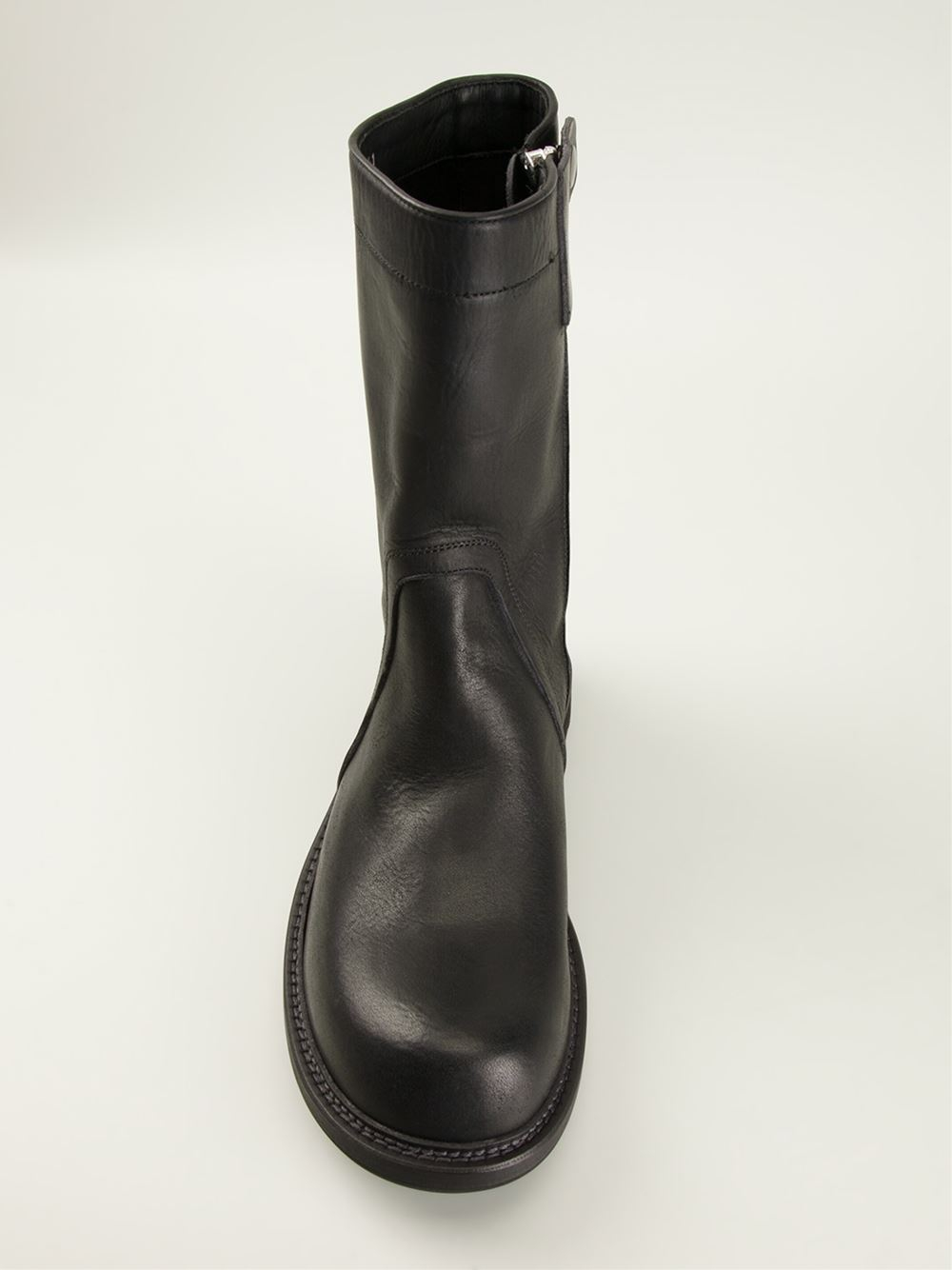 creeper boots - Black Rick Owens Discount View Excellent For Sale Choice VEyb6m