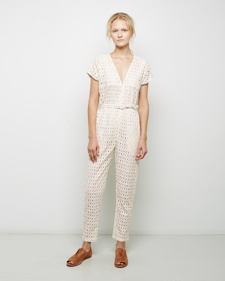 4b0790e7406 Lyst - Rachel Comey Glinda Jumpsuit in White