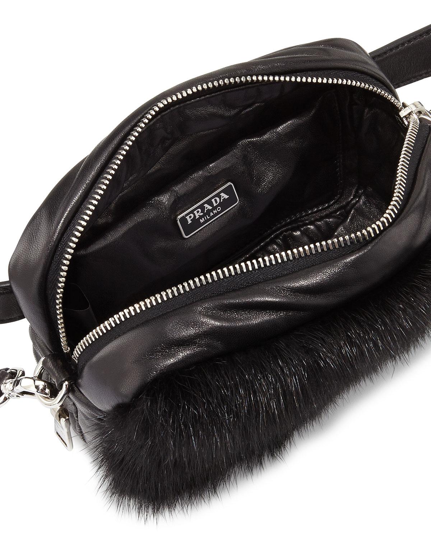 prada nappa bucket bag, prada leather bag men