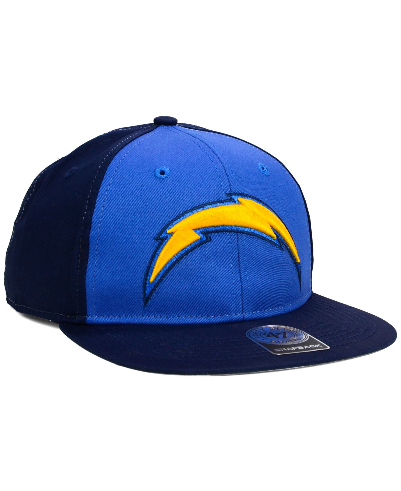 Mens San Diego Chargers 47 Brand Gold Franchise Fitted Hat