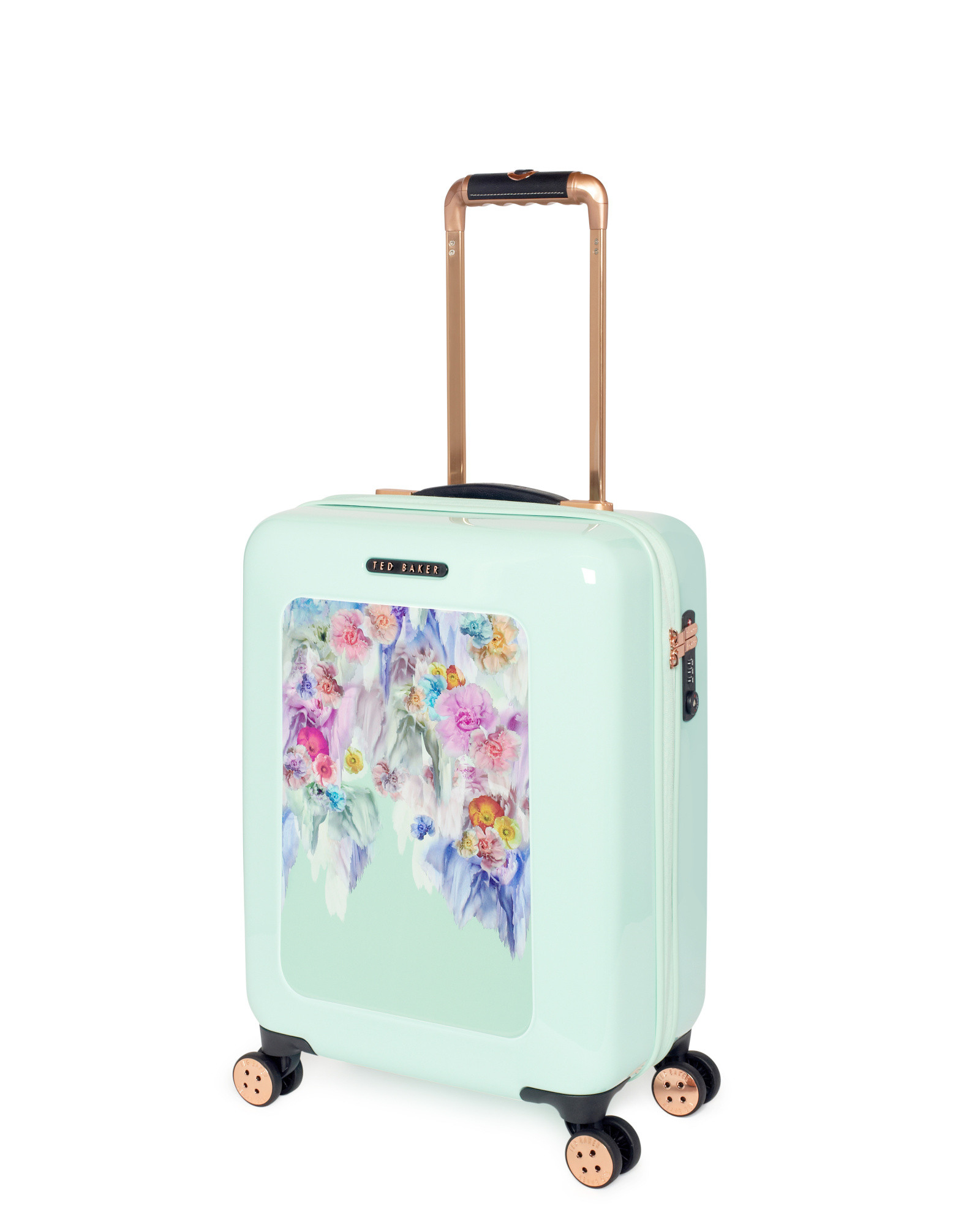 Ted Baker Small Sugar Sweet Floral Suitcase In Floral