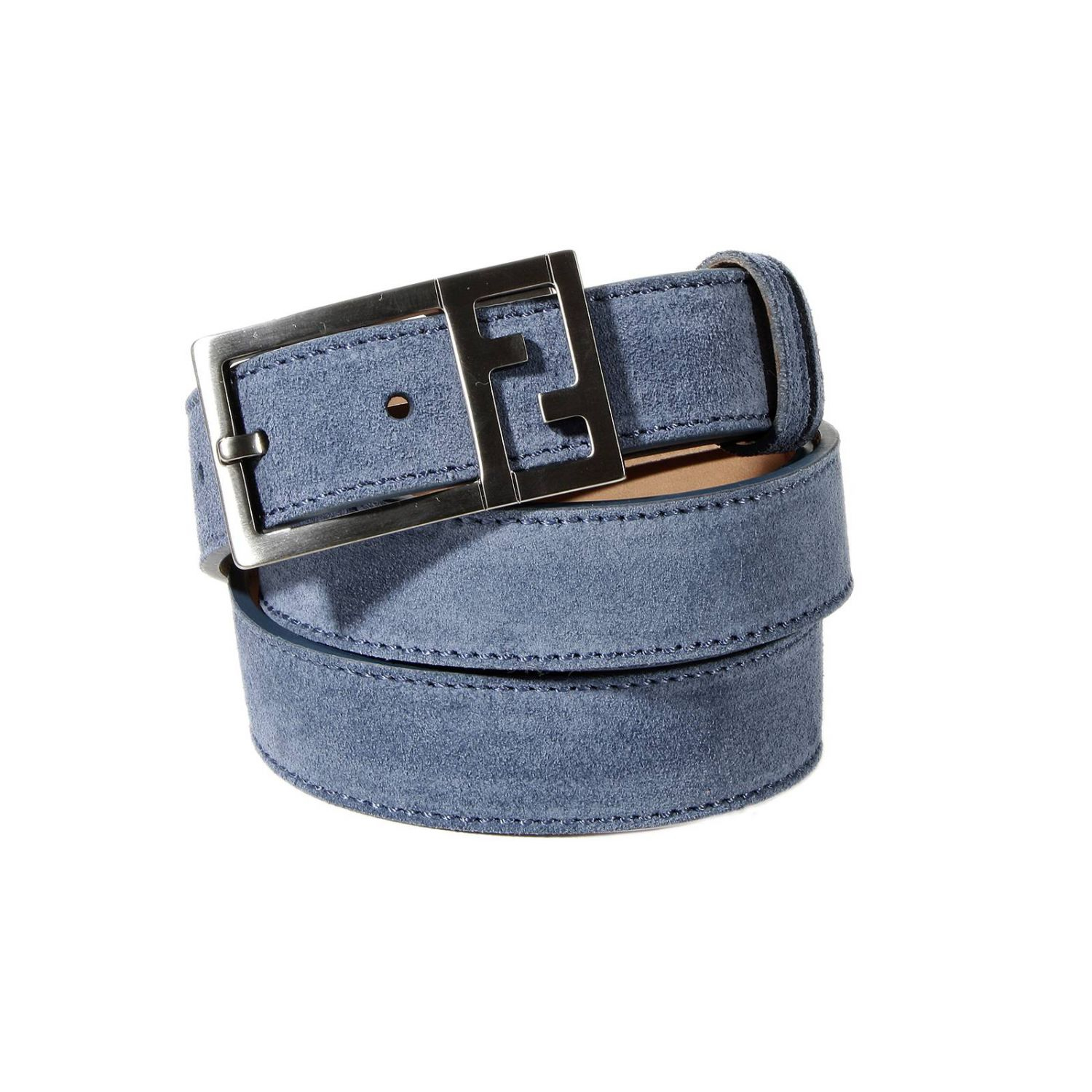 Fendi Classic Belt Suede W: 2.8 Cm L: 124 Cm in Blue for ...