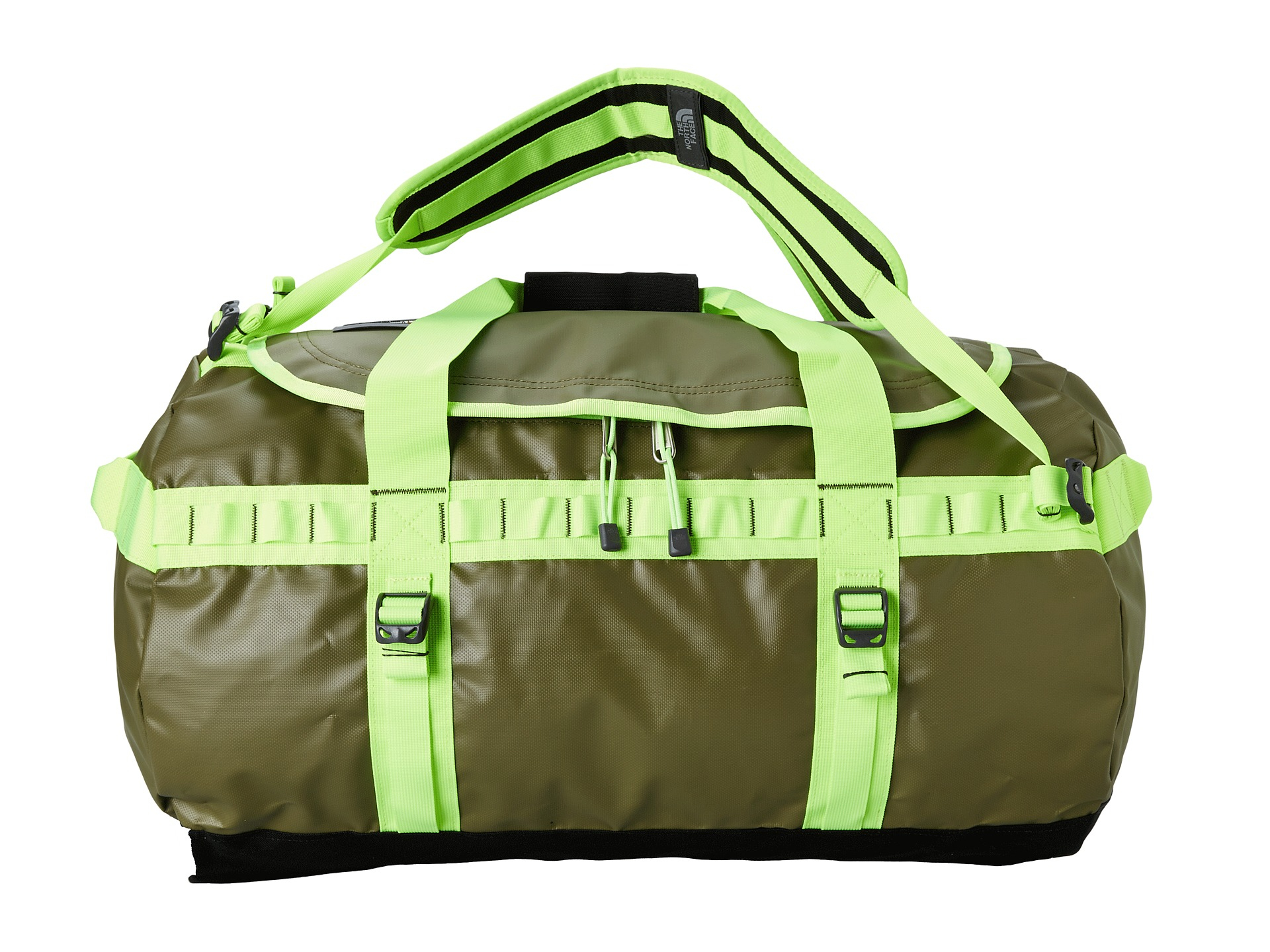 North Face Base Camp Schoudertas : Lyst the north face base camp duffel medium in green
