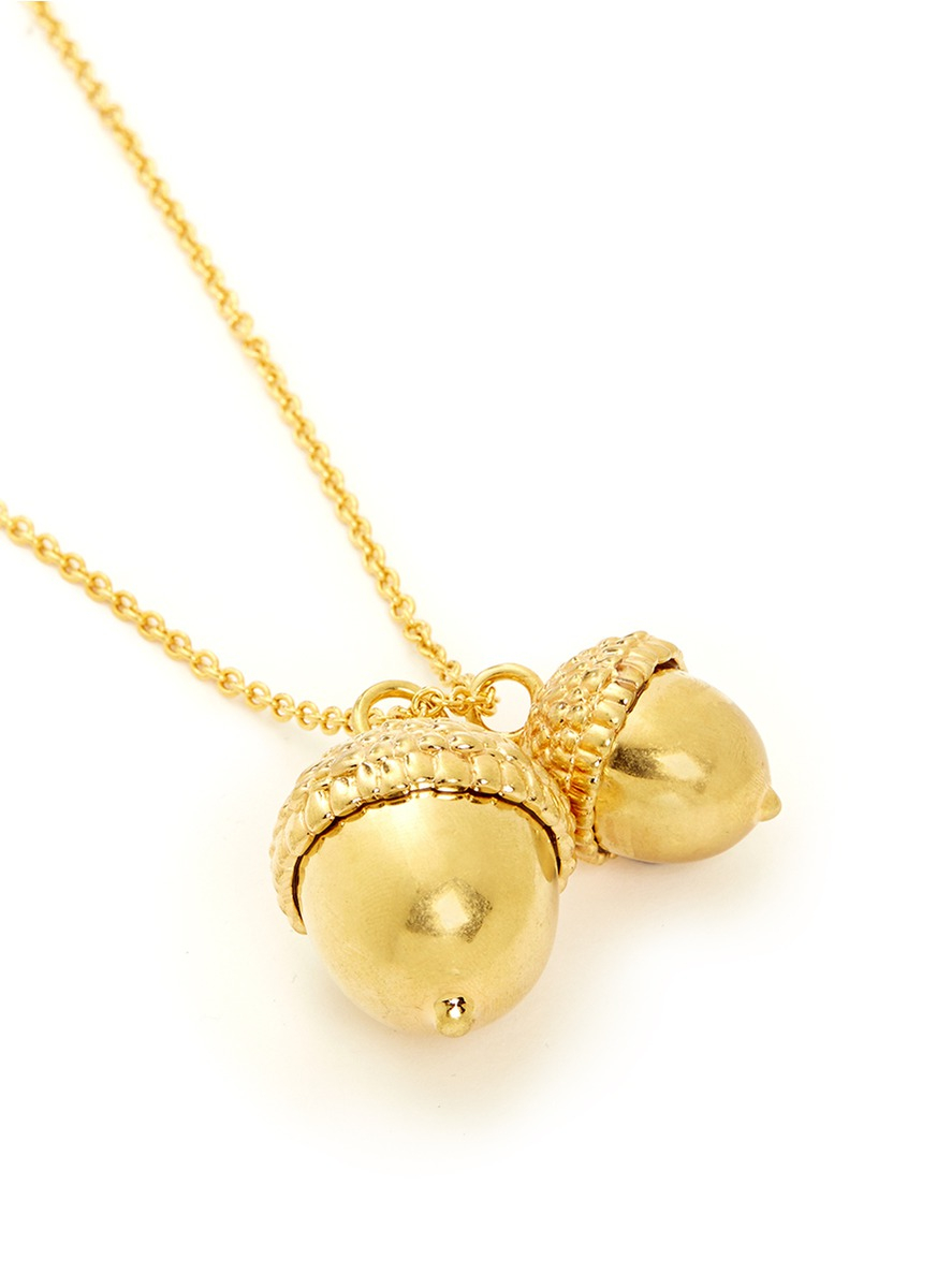 necklace pendant acorn yourself water drop project products