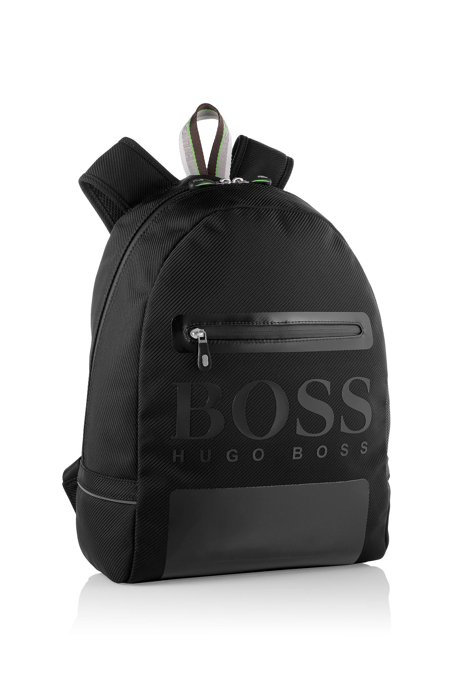 85fee962b2e BOSS Green Rucksack 'Tranko' In Nylon With A Twill Texture in Black ...