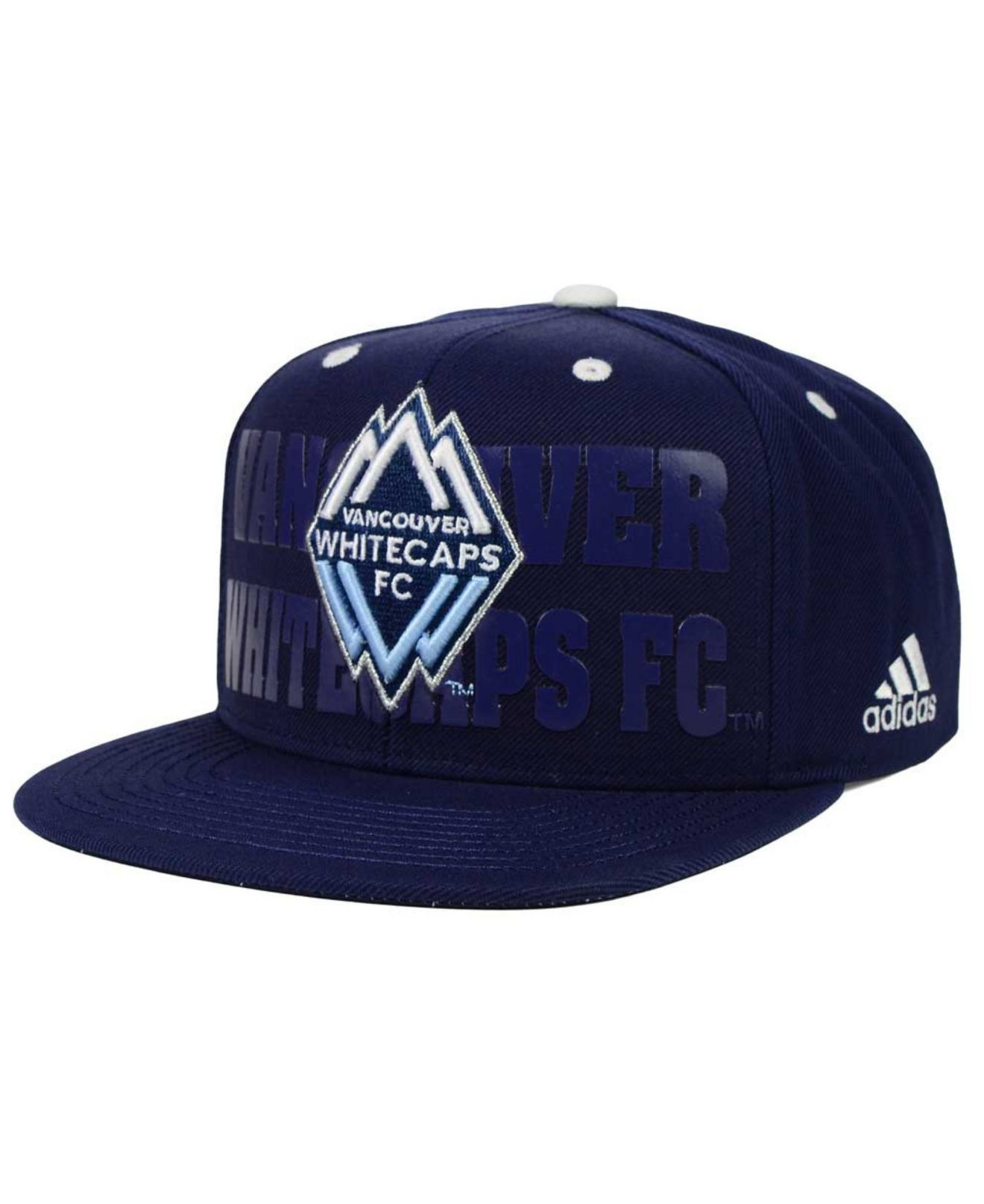Lyst - adidas Originals Vancouver Whitecaps Fc Academy Snapback Cap ... e9174c69e90c