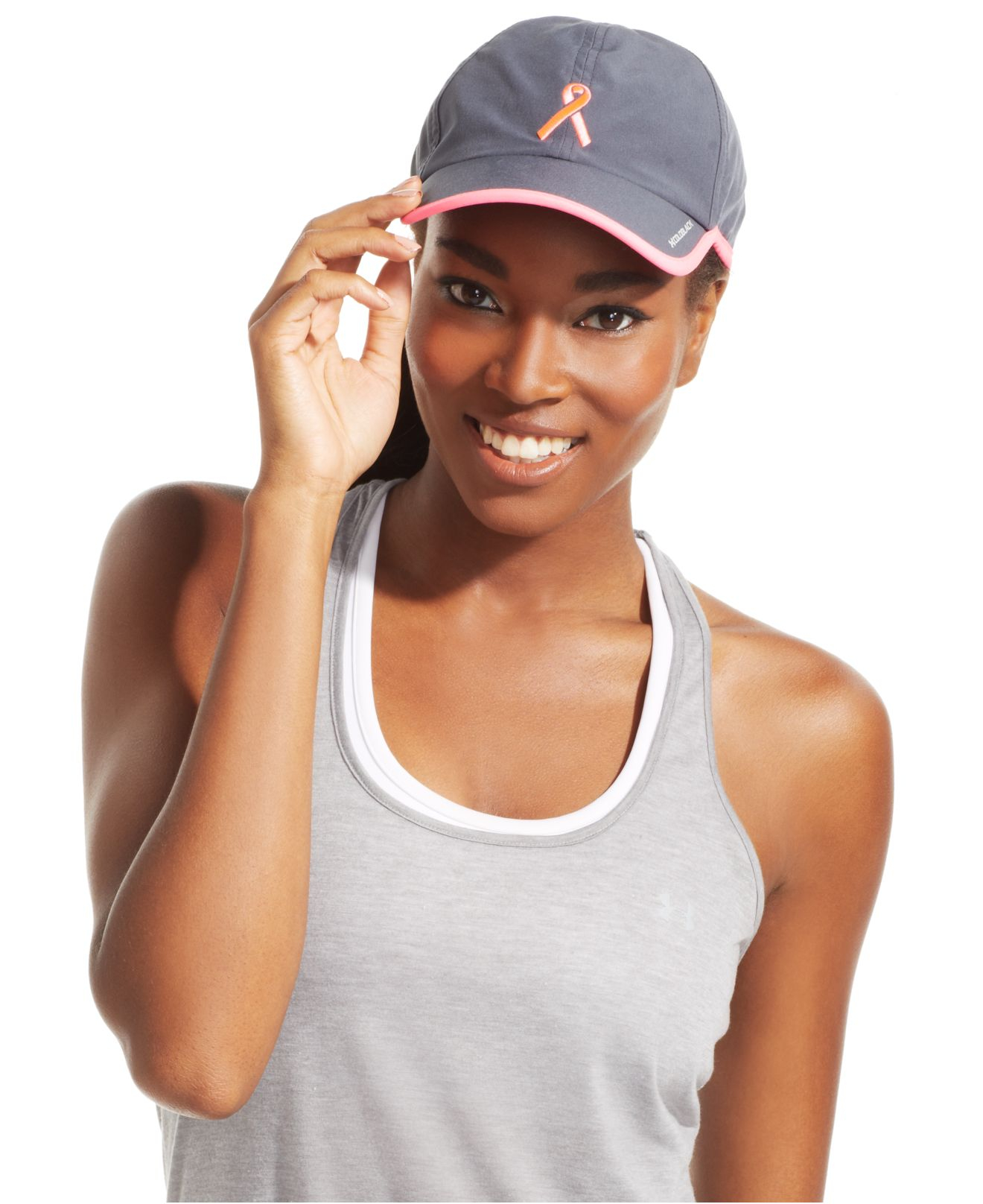 Lyst - Under Armour Power-In-Pink Shadow Sport Cap in Pink 6dc480fe01