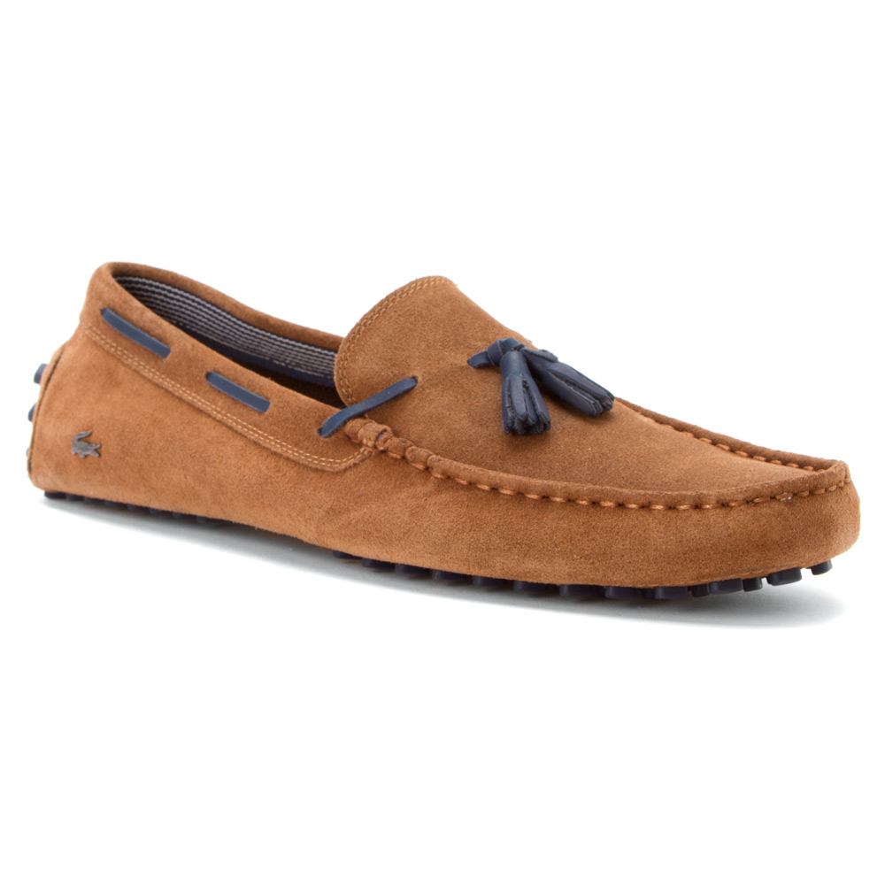 79340ced542ac8 Lyst - Lacoste Concours Tassle 7 in Brown for Men