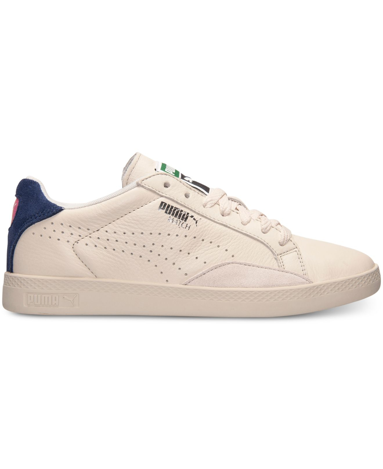 e2d850e8aef5 Lyst - PUMA Women s Match Lo Casual Sneakers From Finish Line in Natural