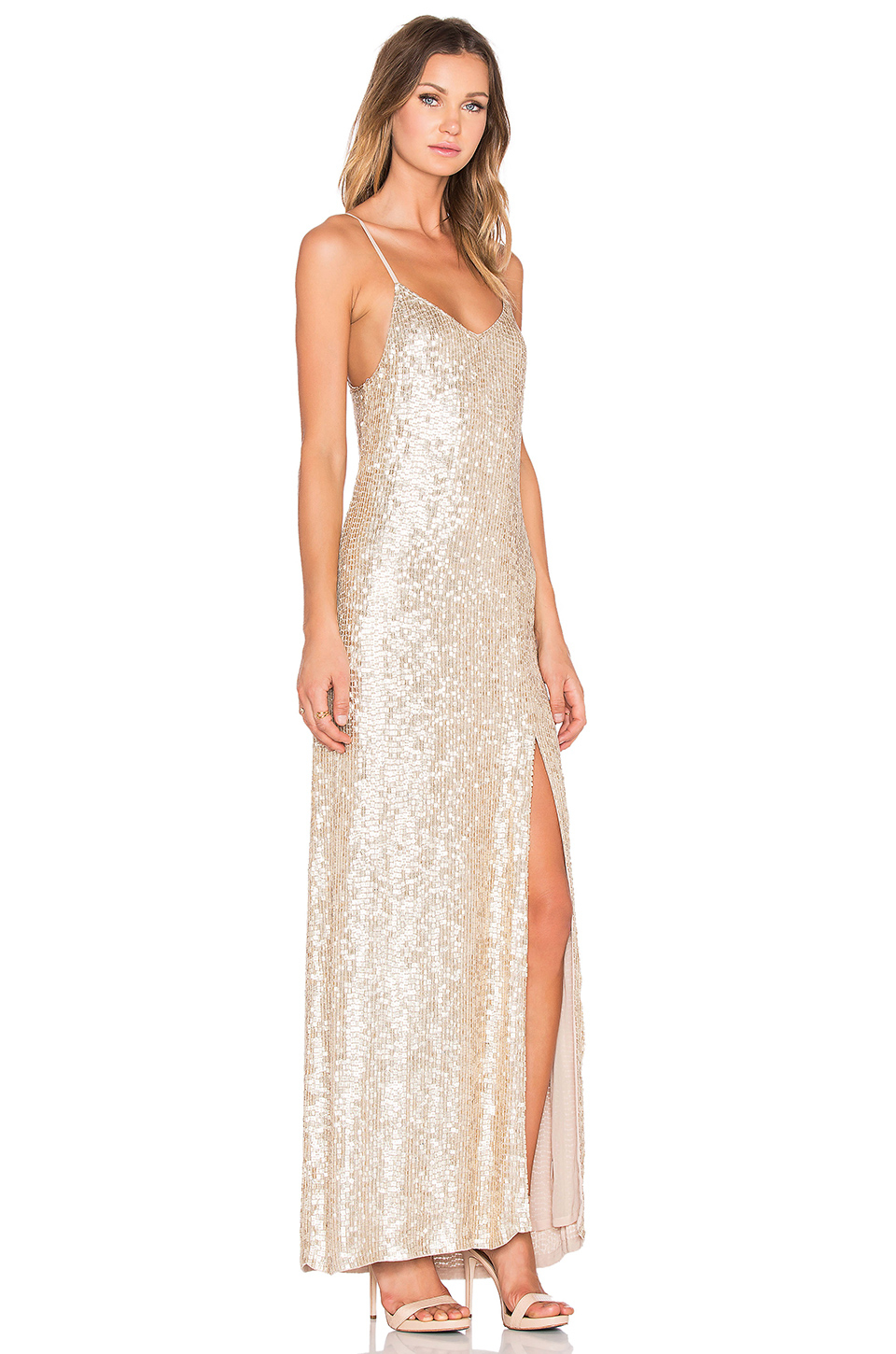 mlv gold london sequin maxi dress product 0 975629038 normal