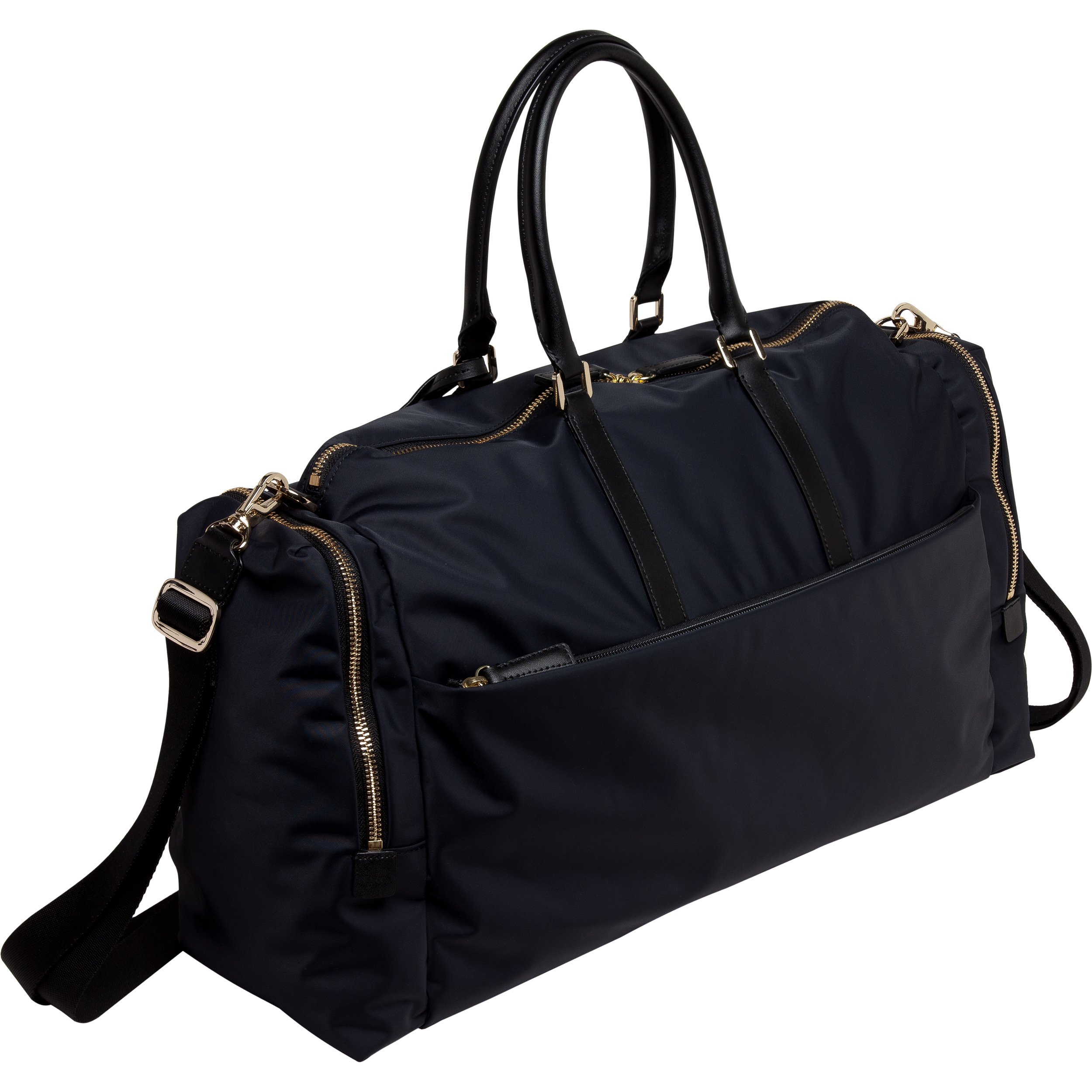 Agnès b. Black Travel Boston B Bag in Black | Lyst