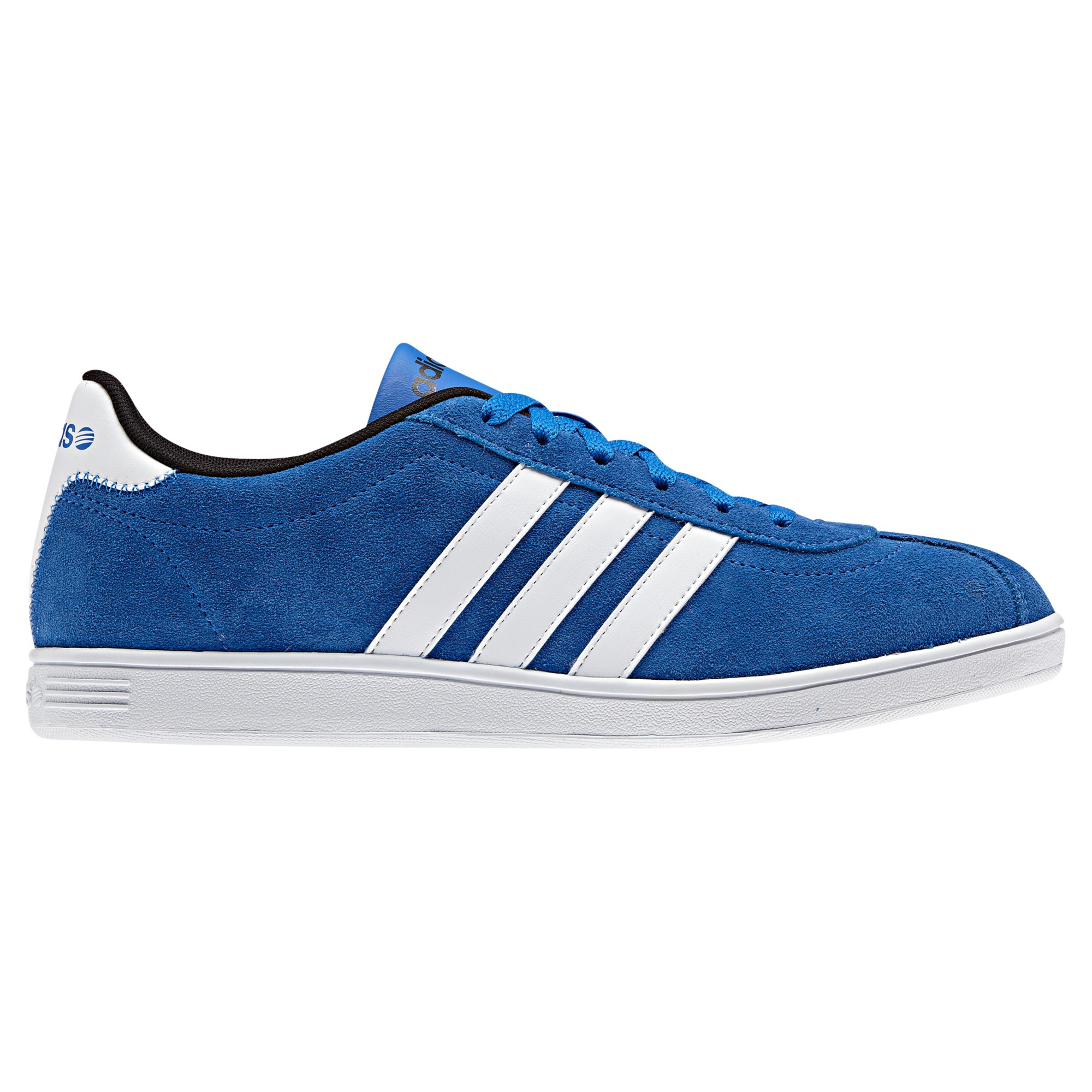 adidas Vlneo Suede Court Trainers in Blue/White (Blue) for Men