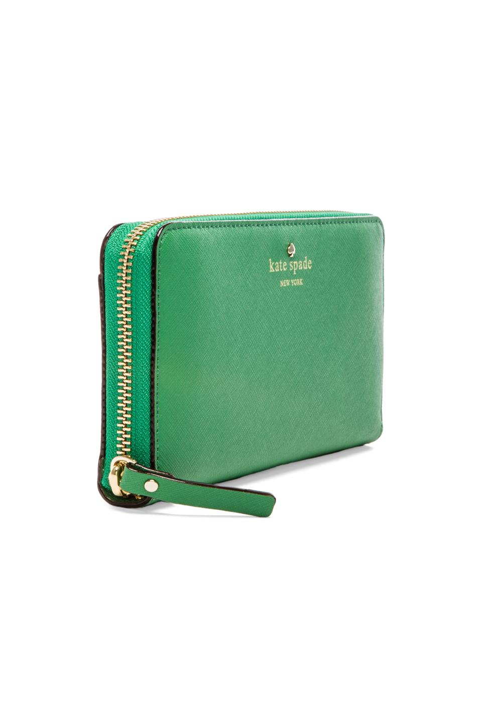 Lyst - Kate Spade New York Lacey Wallet in Green