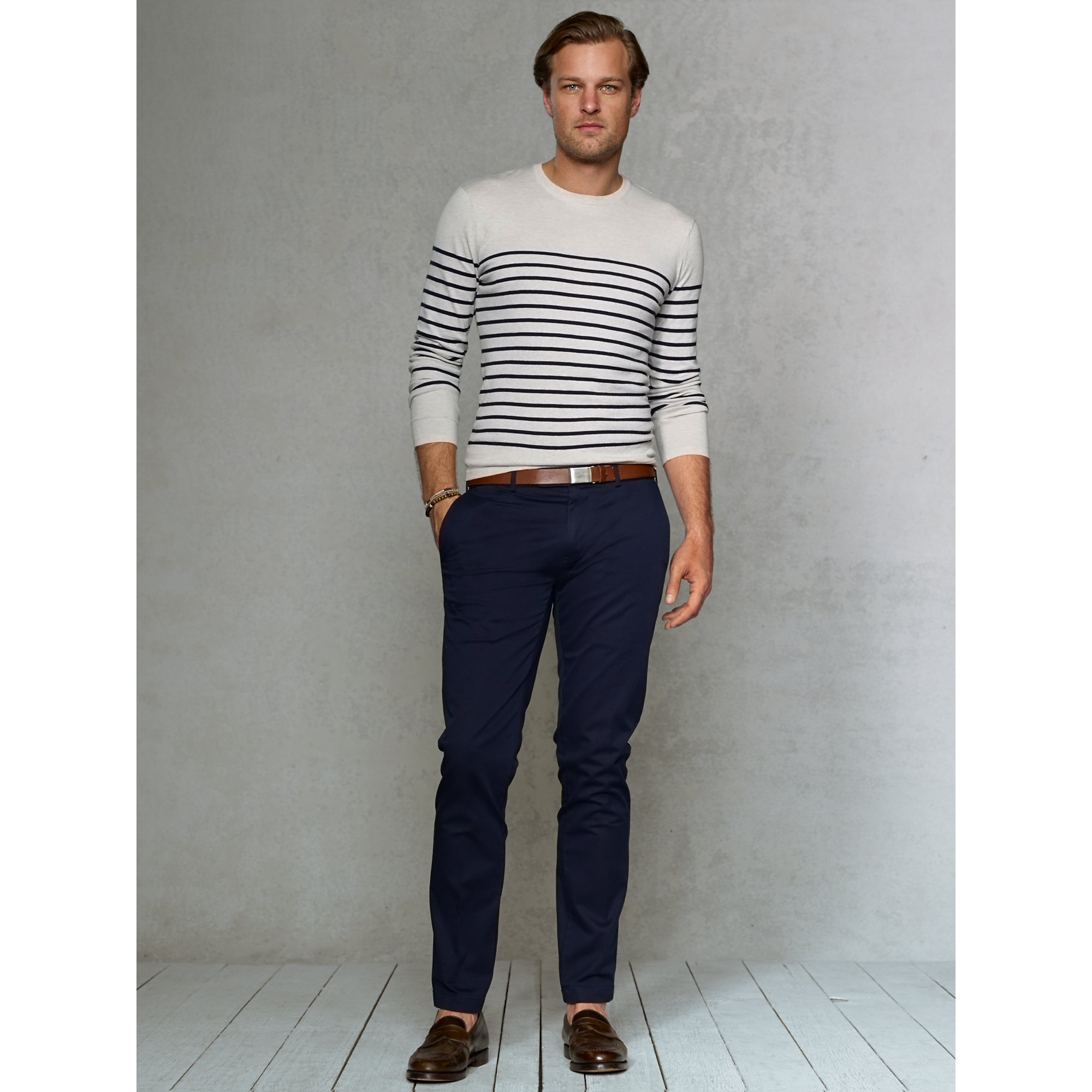 Lyst Polo Ralph Lauren Slim Fit Stretch Chino Pant In