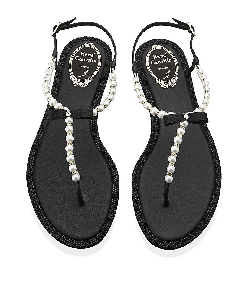 RENé CAOVILLA Pearl detail sandals qlzDZX5s